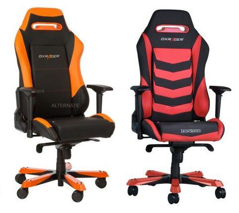 DXRacer Iron Bürostühle in versch. Farben für je 265€ (statt 349€)