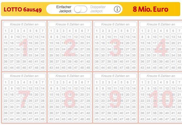 Bildschirmfoto 2017 02 25 um 10.18.52 1 Lotto Tipp (8 Mio. Jackpot) + 35 Rubbellose für 0,99€   nur Neukunden