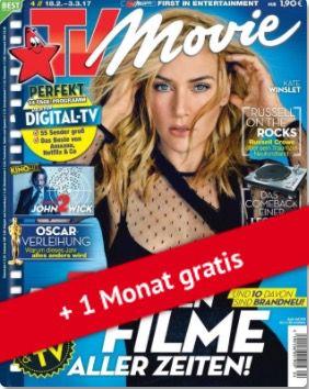 TV Movie Jahresabo für 59,80€ + 60€ Gutschein