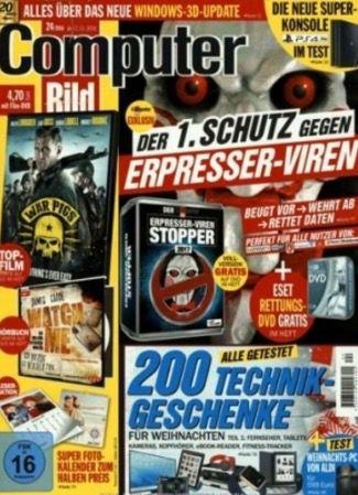 7 Ausgaben Computer Bild mit DVD inkl. 35€ Amazon Gutschein für 36,75€