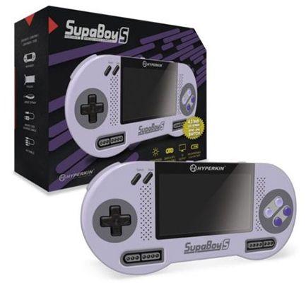 SupaBoy S   Portable SNES Handheld Konsole + 3 Spiele für 103,99€