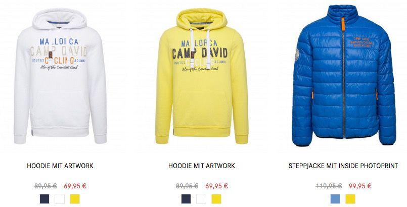 Camp David Sale mit bis zu  70%   Hemden ab 30€   Blusen ab 20€