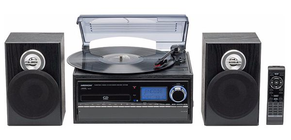Medion E69402 Schallplatten  und Kassettendigitalisierer für 94,95€ (statt 126€)
