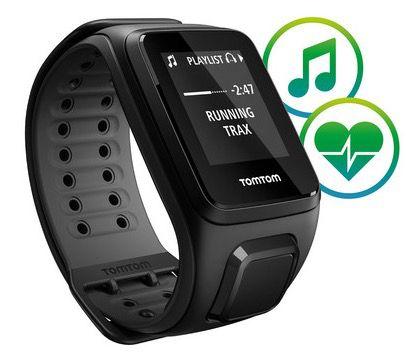 TomTom Runner 2 Cardio + Music GPS Sportuhr für 105,90€ (statt 139€)