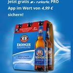 Gratis runtastic PRO App (Wert 4,99€) beim Kauf eines Erdinger Alkoholfrei-Sixpacks
