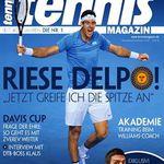 10 Ausgaben vom tennis Magazin für effektiv 7€