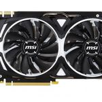 MSI GeForce GTX 1080 ARMOR OC 8GB für 631€ + 106,41€ in Superpunkten