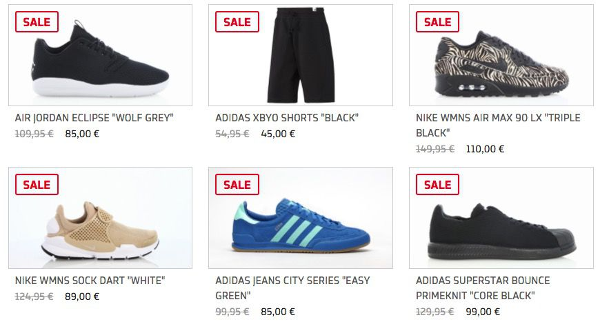 Bis zu 40% Rabatt im Afew Sneaker Sale + 20% Gutschein + VSK frei ab 50€