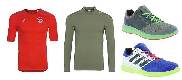 adidas TechFit Kompressionsbekleidung ab 17,99€    z.B. FC Bayern Shortsleeve für 20€