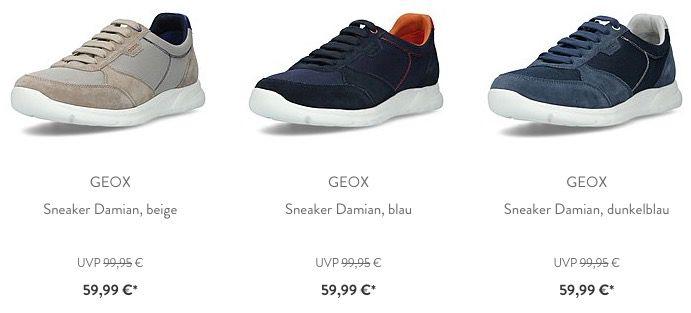 Geox Respira Schuh Sale bei brands4friends   z.B. Geox Cart Sneaker für 67€ (statt 75€)