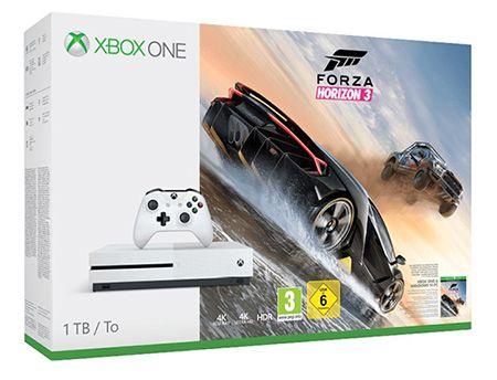 Xbox One S 1TB + Forza Horizon 3 für 255€