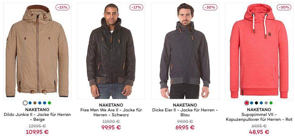 NAKETANO Sale + 20% Gutschein   TOP!