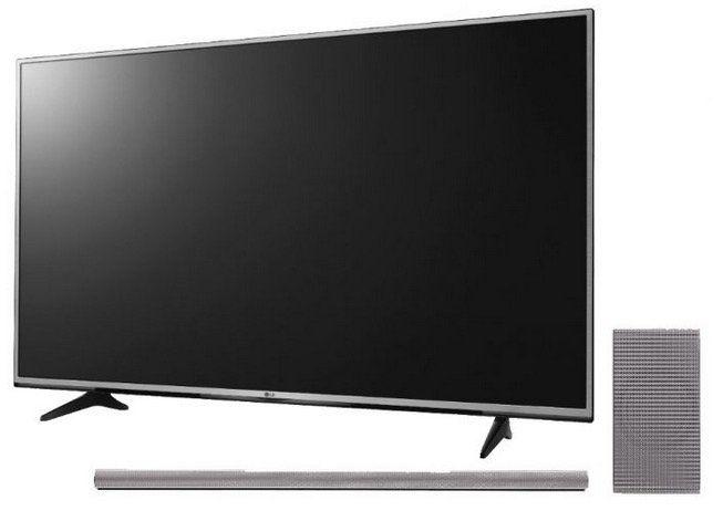 LG 60UH605V   60 Zoll UHD 4K Smart TV + LG DSH9 Soundbar für 899€ (statt 1.067€)