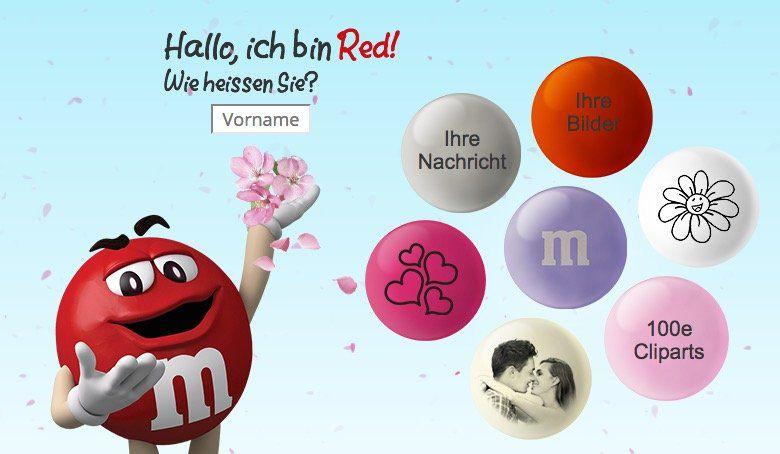 Perfekt zum Muttertag? myM&Ms mit 25% Gutschein für selbstgestaltete M&Ms (mit Foto, Text...)