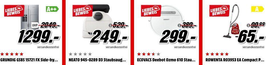 Media Markt Liebesbeweis: viele günstige Top Artikel (Handys, Laptops, TVs, Wearables, Haushalt...)