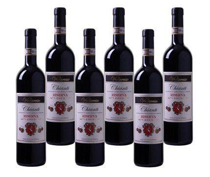 6 Flaschen Vallaresso Chianti Riserva DOCG für 34,94€