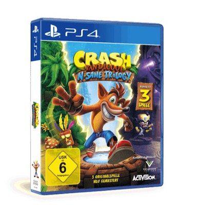 Crash Bandicoot   n.sane Trilogy (PS4) für 18,98€ (statt 29€)