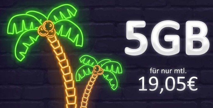 otelo Fan Tarif (Vodafone) mit 5GB für 19,05€mtl. + 5€ mtl. für Highspeed + Smartphone ab 4,95€
