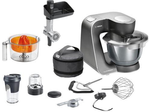 Bosch MUM59M54   1000Watt Küchenmaschine mit reichlich Zubehör für 299€