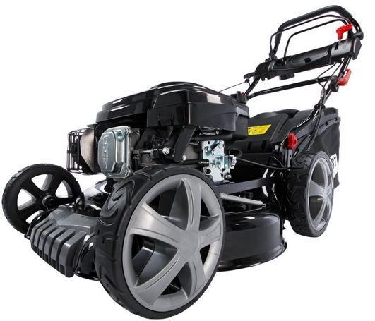Brast 6 PS Rasenmäher BRAST Benzin Rasenmäher 20196 Deluxe mit Radantrieb und Mulchfunktion für 269€