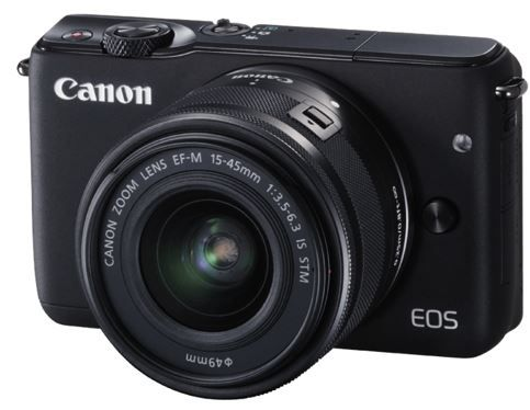 Canon EOS M10 Kit + 15 45mm Objektiv   18MP Systemkamera für 257€ (statt 300€)