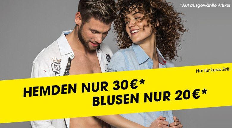 Camp David Hemden Camp David Sale mit bis zu  70%   Hemden ab 30€   Blusen ab 20€