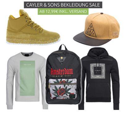 Cayler CAYLER & SONS   Fashion für Damen und Herren ab 12,99€