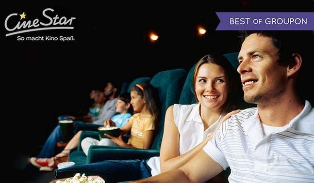 5 Cinestar Einzel Tickets inkl. Loge für 2D Filme für 31,25€ (statt 45€)