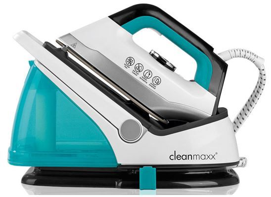 Cleanmaxx Bügeleisen CLEANmaxx Dampfbügelstation + Dampfbügeleisen für 59,99€