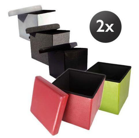 Echtwerk StoreCube   Sitzwürfel im Doppelpack für 24,90€ (statt 36€)