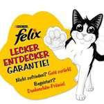 Felix Produkte für bis zu 10€ gratis testen dank Geld zurück Garantie