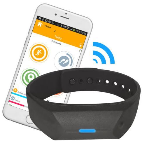 Fitness Armband Oregon Scientific PE 128   Smart Aktivitäts Tracker für 14,95€