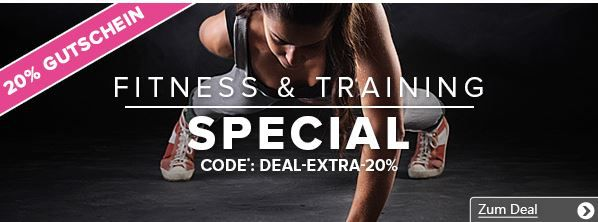 Vaola Sport und Fashion + Fitness & Training Special Sale mit 20% extra Rabatt