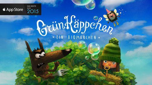 Grünkäppchen Banner Grünkäppchen Kinder App für iOS gratis (statt 2,99€)
