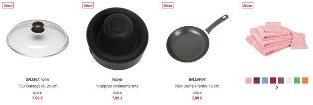 Galeria Kaufhof mit 20% Rabatt auf Heimtextilien & Haushaltswaren