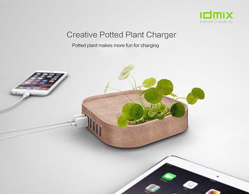 IDMIX-USB-Hub-Gruen