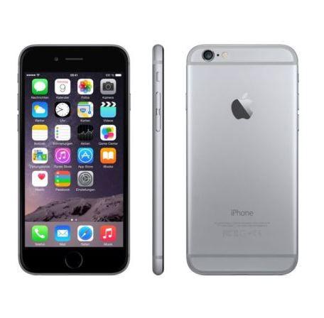 Apple iPhone 6 mit 16GB für 269,95€ (statt 459€)   Kundenretouren!