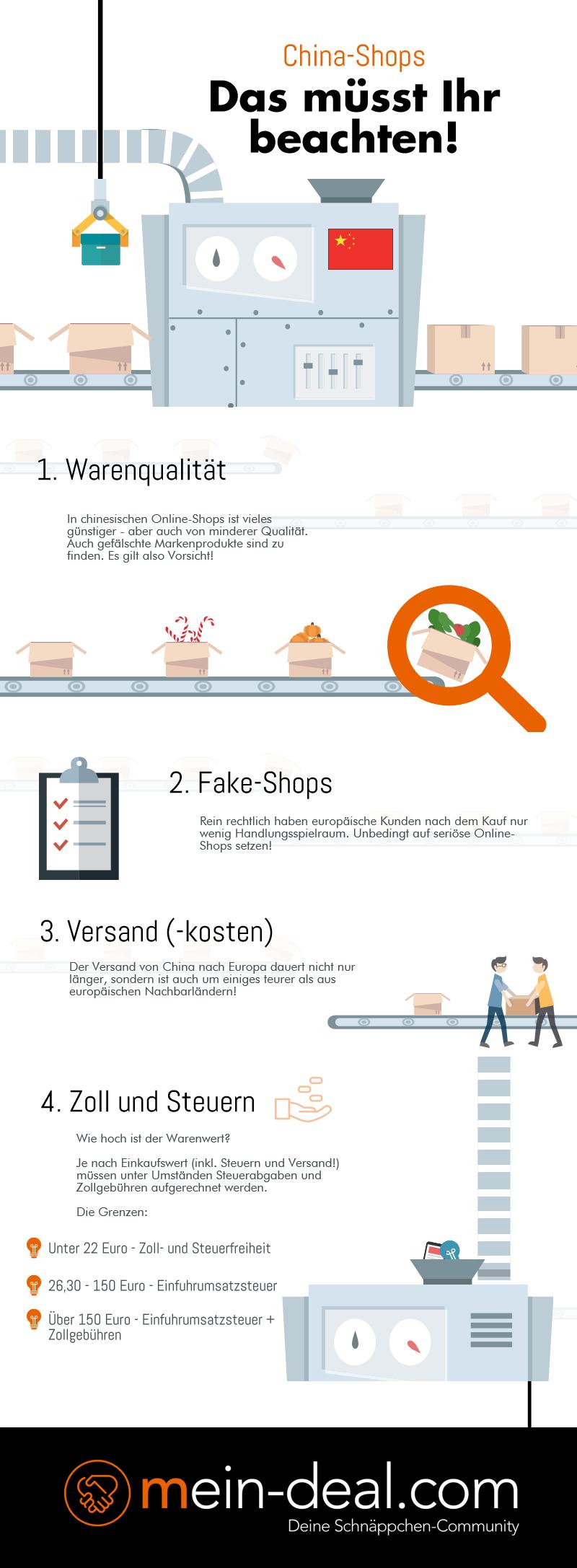 Günstig einkaufen in China Shops – darauf müsst Ihr achten!