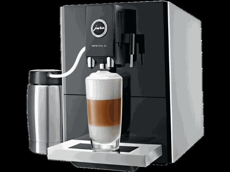 Jura 13778 Impressa A5   Kaffeevollautomat mit Aroma+ Mahlwerk für 599€ (statt 748€)