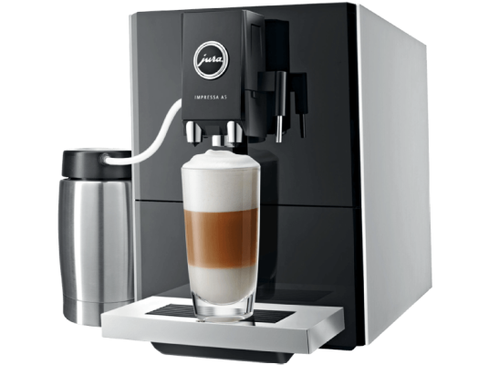 JURA 13778 IMPRESSA A5 Kaffeevollautomat Aroma Mahlwerk 1 e1486302566483 Jura 13778 Impressa A5   Kaffeevollautomat mit Aroma+ Mahlwerk für 599€ (statt 748€)