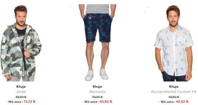 dress for less mit 18% extra Rabatt auf Khujo bis Mitternacht   z.B. Khujo Herren Jacke für 41€