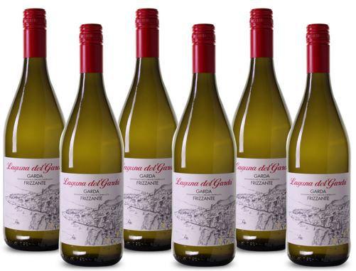 6 Fl. Laguna del Garda   Frizzante ital. Weißwein für 32,94€ (statt 44€)