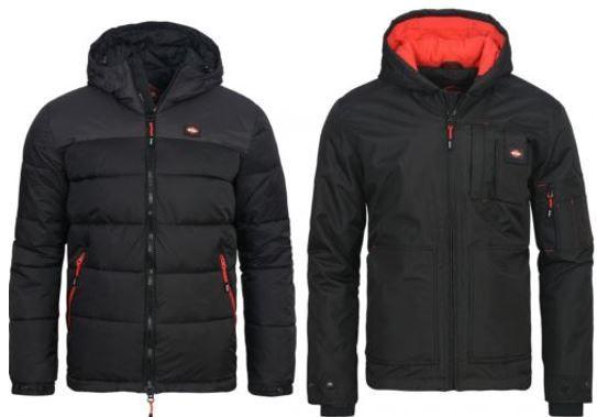 Lee Cooper Herren Winter Funktionsjacke für 14,99€ (statt 33€)