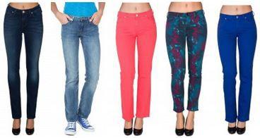 Lee, Wrangler Jeans
