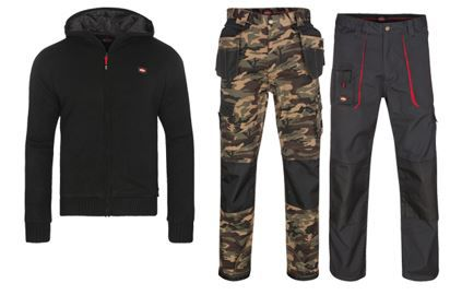 Lee Cooper Herren Bekleidung Sale   z.B. Work Wear Arbeitshosen für 7,99€