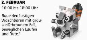 Gratis Lego Mini Bauaktion Februar – nur am 02.02. in teilnehmenden Lego Stores