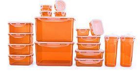 Lock Wieder da! 18 Lock & Lock Frischhaltedosen für 19,93€ (statt 30€)   nur Neukunden!