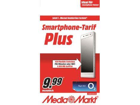 Media Mark Startercard Prepaid:  450 Freieinheiten + 300 MB (o2) für 1€