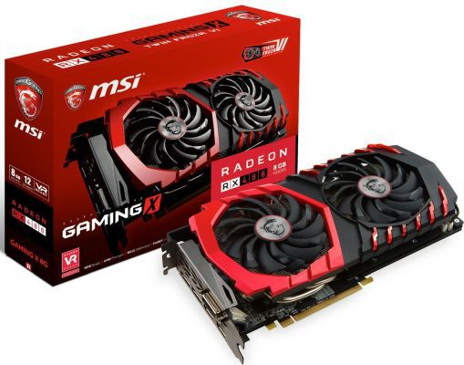 MSI Radeon RX 480 Gaming X 8GB für nur 224,35€ (statt 250€)