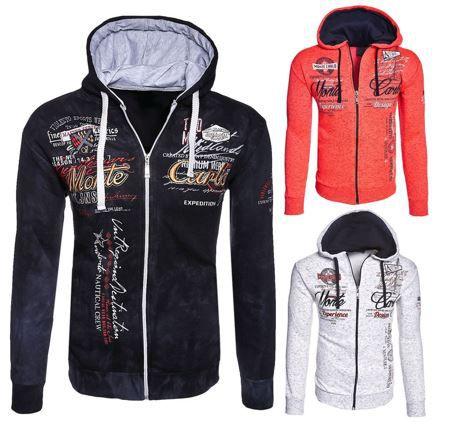 MT Styles   Herren Zipper Hoodies bis 4XL für je 19,90€